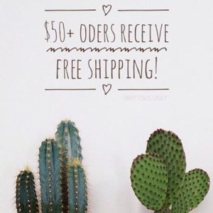 Other - Spend $50+ receive FREE shipping!